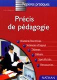 Jean Pastiaux et Georgette Pastiaux - Précis de pédagogie - Edition 1998.