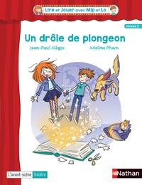 Jean-Paul Alègre et Anne-Claire Boumendil - Un drôle de plongeon - Lot de 5 pièces.
