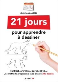 Deedr.fr 21 jours pour apprendre à dessiner - Portraits, animaux, perspective : une méthode progressive avec plus de 200 dessins Image