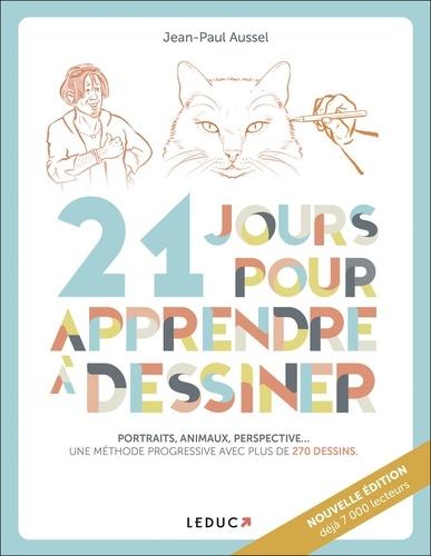 21 jours pour apprendre à dessiner - Portraits, animaux, perspective - 9791028506797 - 9,99 €