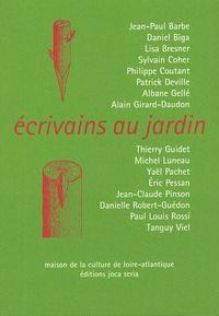 Jean-Paul Barbe et Daniel Biga - Ecrivains au jardin.