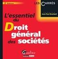 Jean-Paul Branlard - Essentiel du droit général des sociétés.