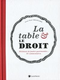 Jean-Paul Branlard - La table et le droit - Décisions de justice gourmandes : 50 commentaires.