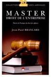 Jean-Paul Branlard - Master droit de l'entreprise - Théorie & pratique du droit des affaires.