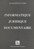 Jean-Paul Buffelan-Lanore - Informatique juridique documentaire.