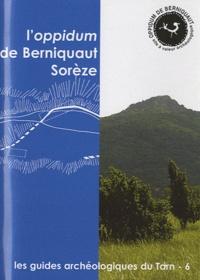 Jean-Paul Calvet - L'oppidum de Berniquaut Sorèze.