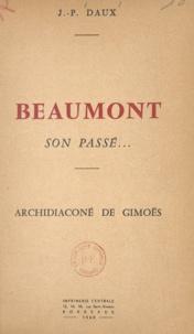 Jean-Paul Daux - Beaumont, son passé - Archidiaconé de Gimoës.