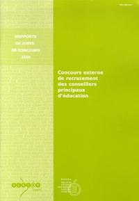 Jean-Paul Delahaye - Concours externe de recrutement des conseillers principaux d'éducation.