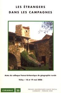 Jean-Paul Diry - Les étrangers dans les campagnes - Actes du colloque franco-britannique de géographie rurale, Vichy, 18 et 19 mai 2006.
