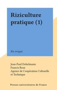 Jean-Paul Dobelmann et Francis Bour - Riziculture pratique (1) - Riz irrigué.