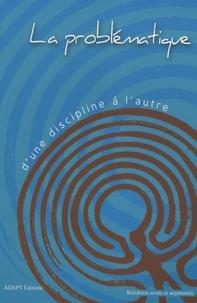 Jean-Paul Falcy et Michel Tourneux - La problématique d'une discipline à l'autre.