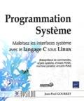 Jean-Paul Gourret - Programmation Système - Maîtrisez les interfaces système avec le langage C sous Linux.