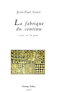 Jean-Paul Goux - .