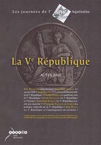 Jean-Paul Grasset - La Ve République - Actes 2006.