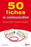 Jean-Paul Guedj - 50 fiches de communication - Concepts et pratiques, techniques de management.