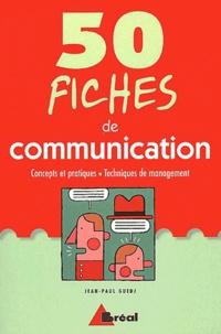 Goodtastepolice.fr 50 fiches de communication. Concepts et pratiques, techniques de management Image