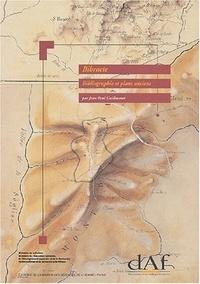 Jean-Paul Guillaumet - Bibracte, bibliographie et plans anciens.