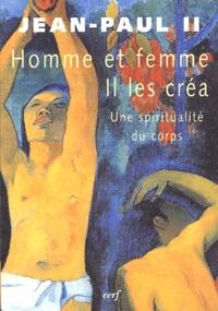 Histoiresdenlire.be Homme et femme il les créa - Une spiritualité du corps Image