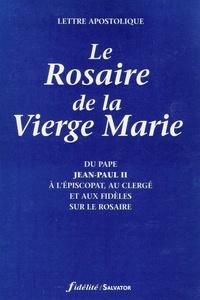 Deedr.fr Le Rosaire de la Vierge Marie. Lettre apostolique du Pape Jean-Paul II à l'Episcopat, au clergé et aux fidèles sur le Rosaire Image