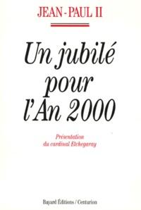 Corridashivernales.be Un jubilé pour l'an 2000 - [lettre apostolique, 10 novembre 1994 Image