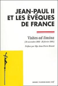 Jean-Paul II et  Evêques de France - Visites ad limina (24 nomembre 2003-28 février 2004).