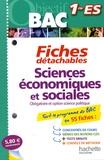 Jean-Paul Lebel - Sciences économiques et sociales Obligatoire et option science politique - Fiches détachables 1re ES.