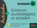 Jean-Paul Lebel - Sciences économiques et sociales Tle ES.