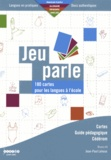 Jean-Paul Lehoux - Jeu parle - 180 cartes pour les langues à l'école. 1 Cédérom