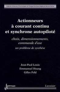 Actionneurs à courant continu et synchrone autopiloté - Choix, dimensionnements, commande daxe : un problème de synthèse.pdf