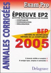 Satt2018.fr EP2 Comptabilité, Communication, Organisation BEP MS et MC - Annales Corrigées Image
