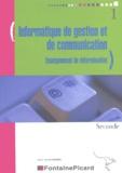 Jean-Paul Margerin - Informatique de gestion et de communication 2e enseignement de détermination.
