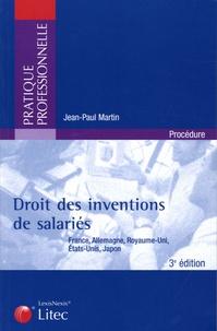 Droit des inventions de salariés - France, Allemagne, Royaume-Uni, Etats-Unis, Japon.pdf