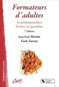 Formateur d'adultes- Se professionnaliser, exercer au quotidien - Jean-Paul Martin | Showmesound.org
