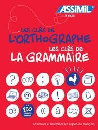 Jean-Paul Mathiss et Alain Porquet - Coffret Les clés de l'orthographe ; Les clés de la grammaire.