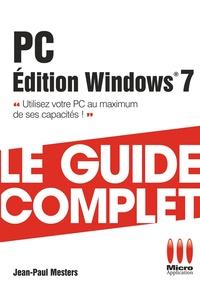 Jean-Paul Mesters - PC Edition Windows 7.
