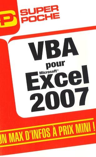 Jean-Paul Mesters - VBA pour Excel 2007.