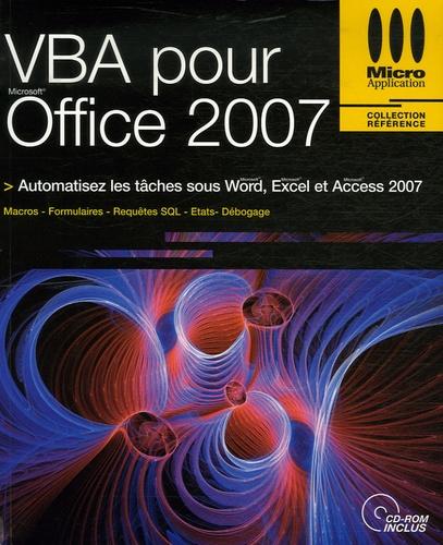 Jean-Paul Mesters et Cécile Loos Sparfel - VBA pour Office 2007. 1 Cédérom