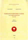 Jean-Paul Pascual et Colette Establet - Familles et fortunes à Damas - 450 foyers damascains en 1700.