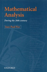 Deedr.fr Mathematical Analysis During the 20th Century Image