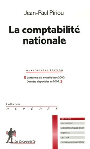 Jean-Paul Piriou - La comptabilité nationale.