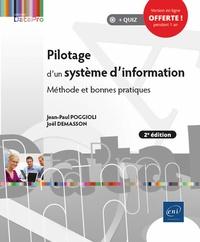 Jean-Paul Poggioli et Joël Demasson - Pilotage d'un système d'information - Méthode et bonnes pratiques.