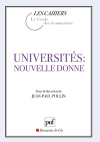 Jean-Paul Pollin - Universités : nouvelle donne.