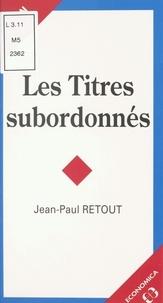 Jean-Paul Retout - .