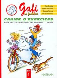 Jean-Paul Rousseau et Martine Descouens - Gafi le fantôme CP - Cahier d'exercices.