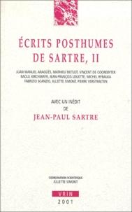 Ecrits posthumes de Sartre.- Volume 2 - Jean-Paul Sartre |