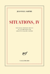 Jean-Paul Sartre - Situations - Tome IV : Avril 1950 - Avril 1953.
