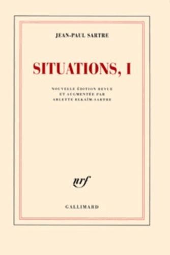 Jean-Paul Sartre - Situations - Tome 8, Autour de 1968.