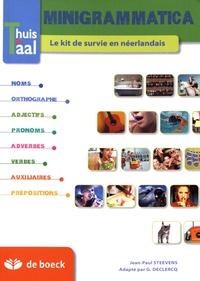 Jean-Paul Steevens - Minigrammatica - Le kit de survie en néerlandais.