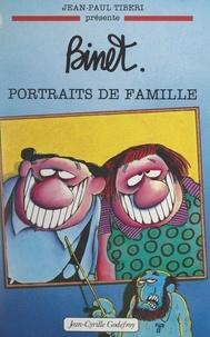 Jean-Paul Tibéri - Christian Binet, portraits de famille (1). 1945-1991.