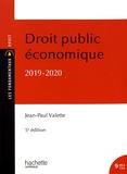 Jean-Paul Valette - Droit public économique.
